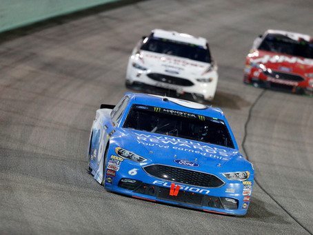 Kenseth Ends Season with 6th Place Finish