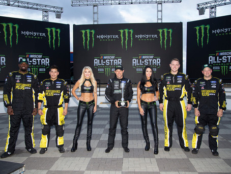 Kenseth wins All-Star Pole