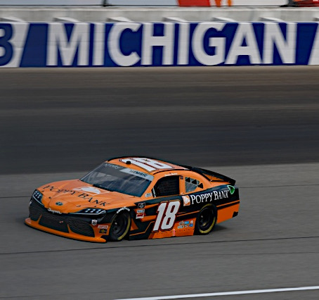 Hemric Finishes 39th after Multi-Car Accident at Michigan