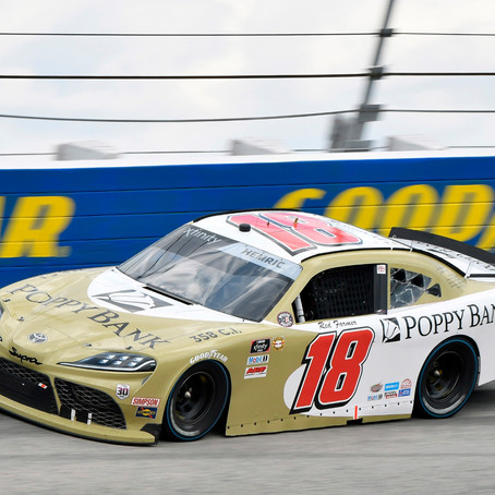 Hemric Rebounds for Another Top-Five Finish
