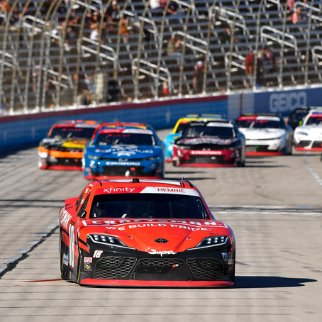 Hemric 2nd at Texas; fourth straight top-5 finish