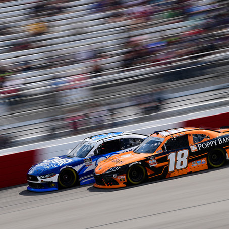 Hemric Leads JGR with 6th Place Finish at Richmond