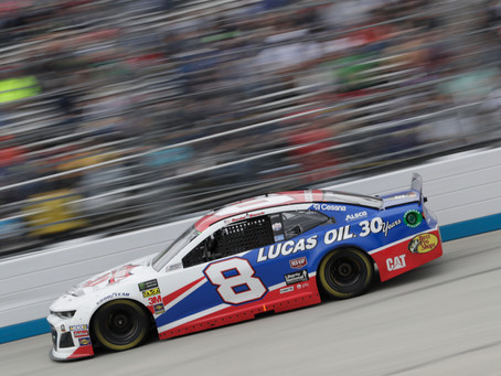 Hemric grinds out 21st-place finish at Dover