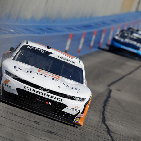 Hemric leads laps en route to 7th-place finish