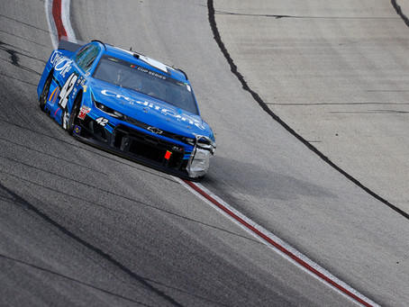 Kenseth Battles for 15th at Atlanta
