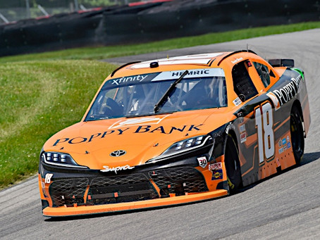 Hemric Overcomes Setback; Rallies for 12th-Place Finish