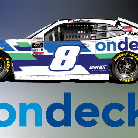 OnDeck Comes on Board with Daniel Hemric