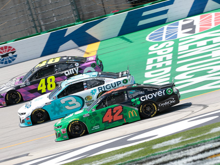 Adversity saddles Kenseth with 25th at Kentucky