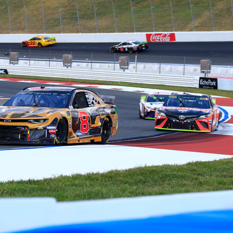 White flag incident costs Hemric a 16th-place finish