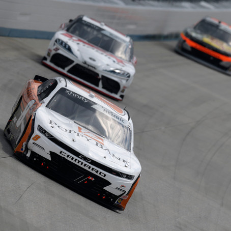 Hemric finishes fifth after staring from rear at Dover