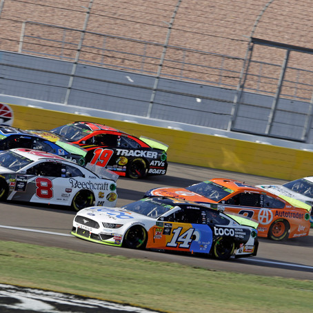 Hemric shows speed in Vegas; finishes 17th