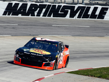 """Hemric """"builds character"""" at Martinsville"""