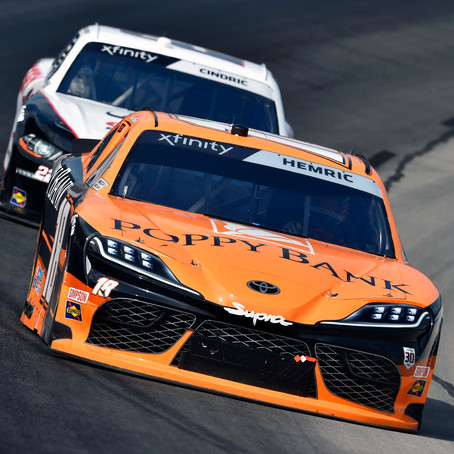 Hemric Finishes Fourth in Sweltering Texas