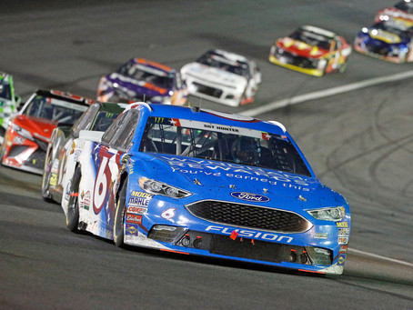 Kenseth finishes 17th at Charlotte