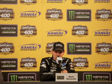 May 11 Transcript: Kenseth at Kansas