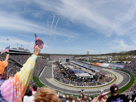 Excited for short-track racing at Martinsville