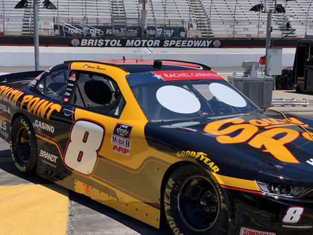 Hemric finishes sixth at Bristol