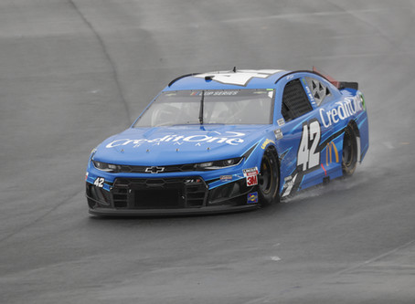 Late Wreck Ruins Day at Rainy Roval