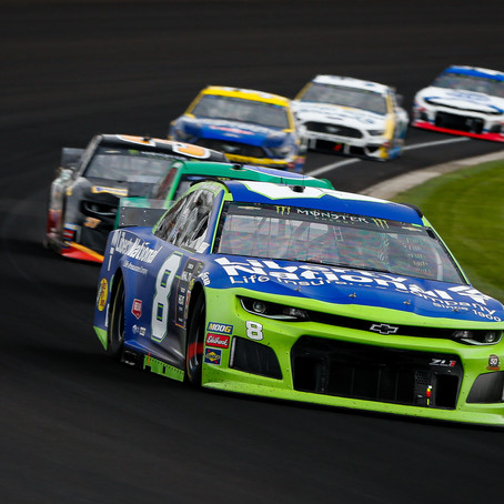 Hemric Collected in Segment 3 Wreck at Indy