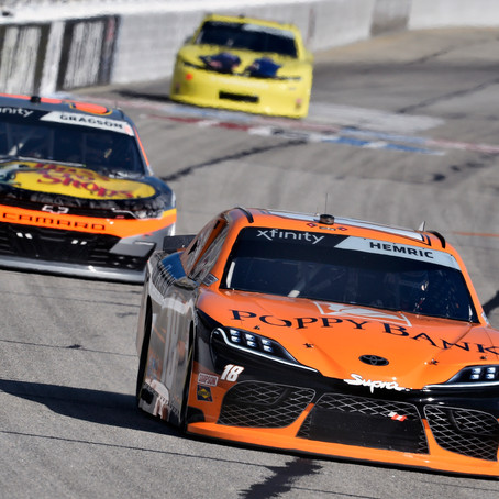 Hemric Fights for his Fifth Top 10 Finish