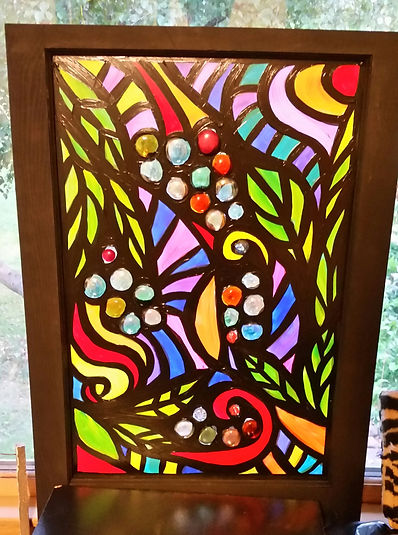painted window stained glass