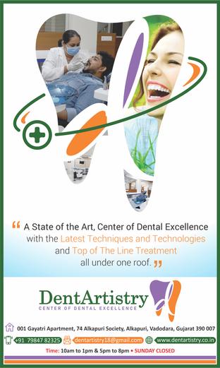 12x20 Dentartistry Advertisement