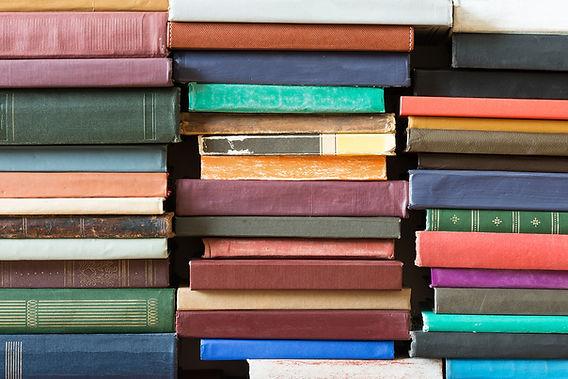 Stapel der Bücher