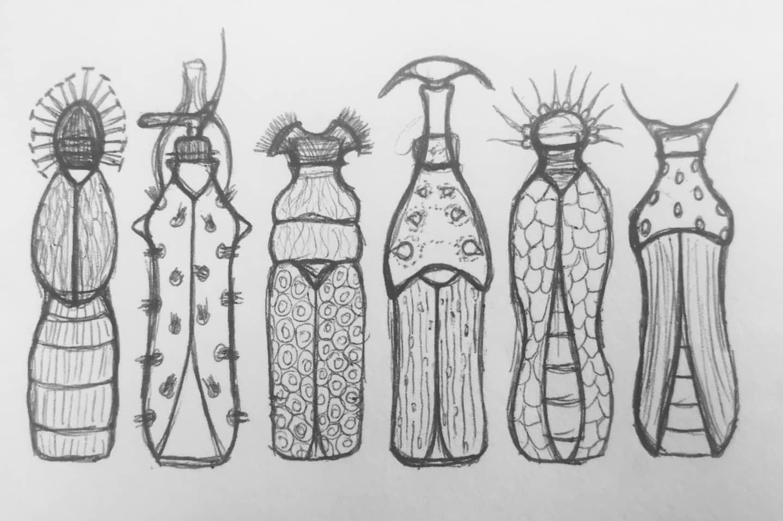 Iconic plastic bottles turned beetle