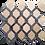 Thumbnail: Trellis Botticino & Kutahya Black Polished Marble Waterjet Mosaic Tile