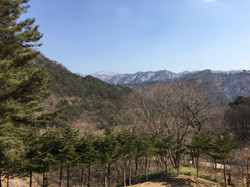 Mountains in Korea