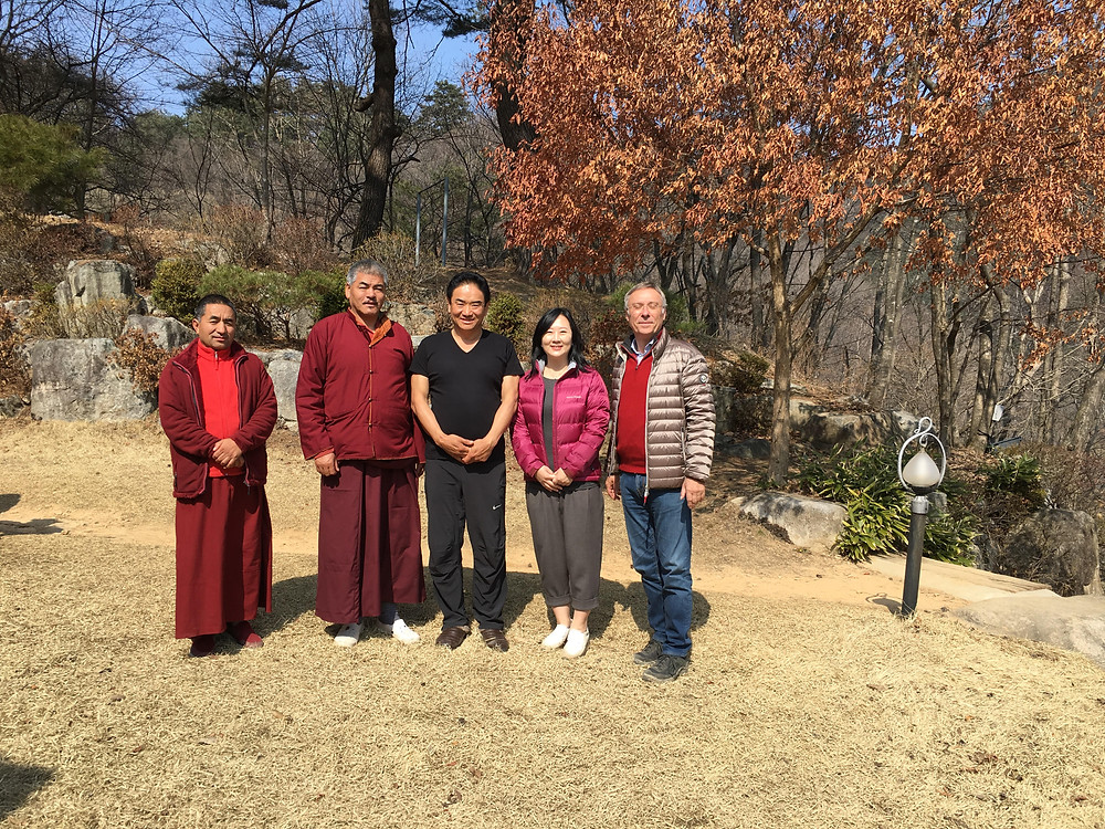 Rinpoche Sey and the Tibetan monks