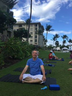 Morning Yoga in Maui