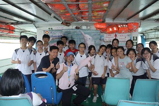 中華白海豚香港觀賞