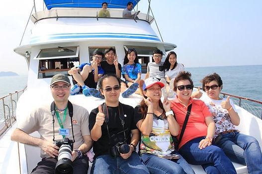 觀賞中華白海豚季節