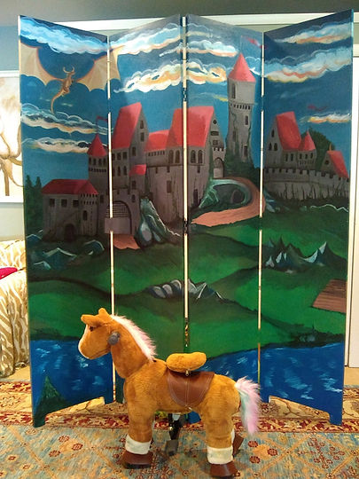 Castle Backdrop for Rent!