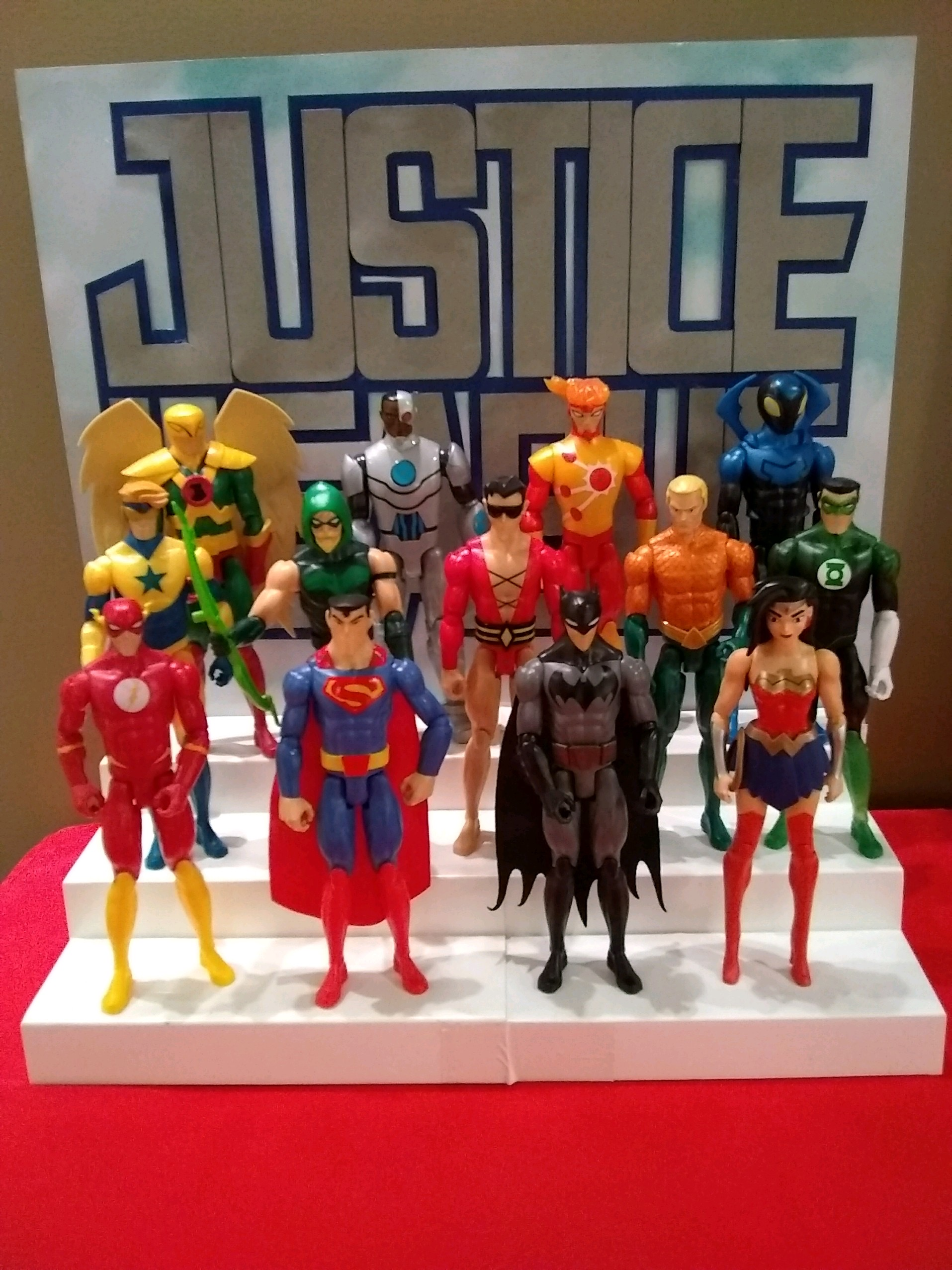 Justice League Cake Backer