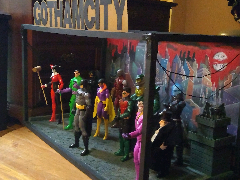 Gotham City Cake Backer