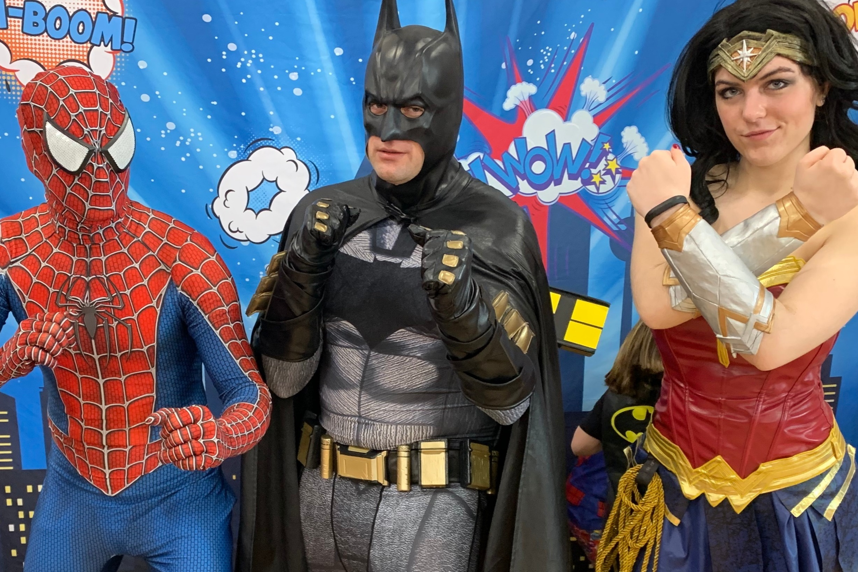 Top 3 Superheroes!