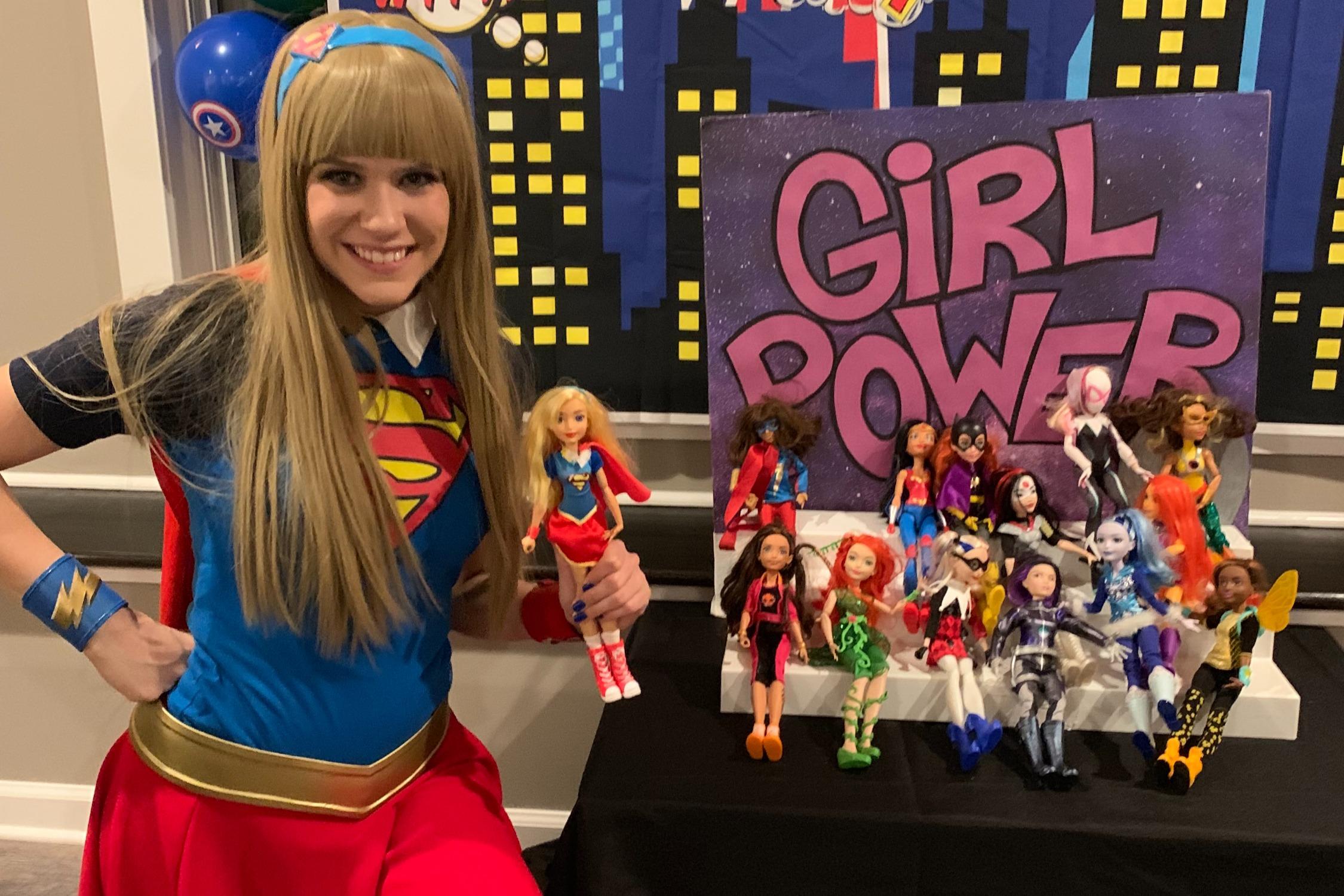 Girl Power Cake Backer!