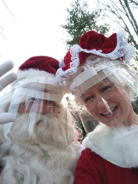 Mr. & Mrs. Claus!