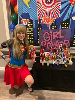 Girl Power Cake Backer for Rent
