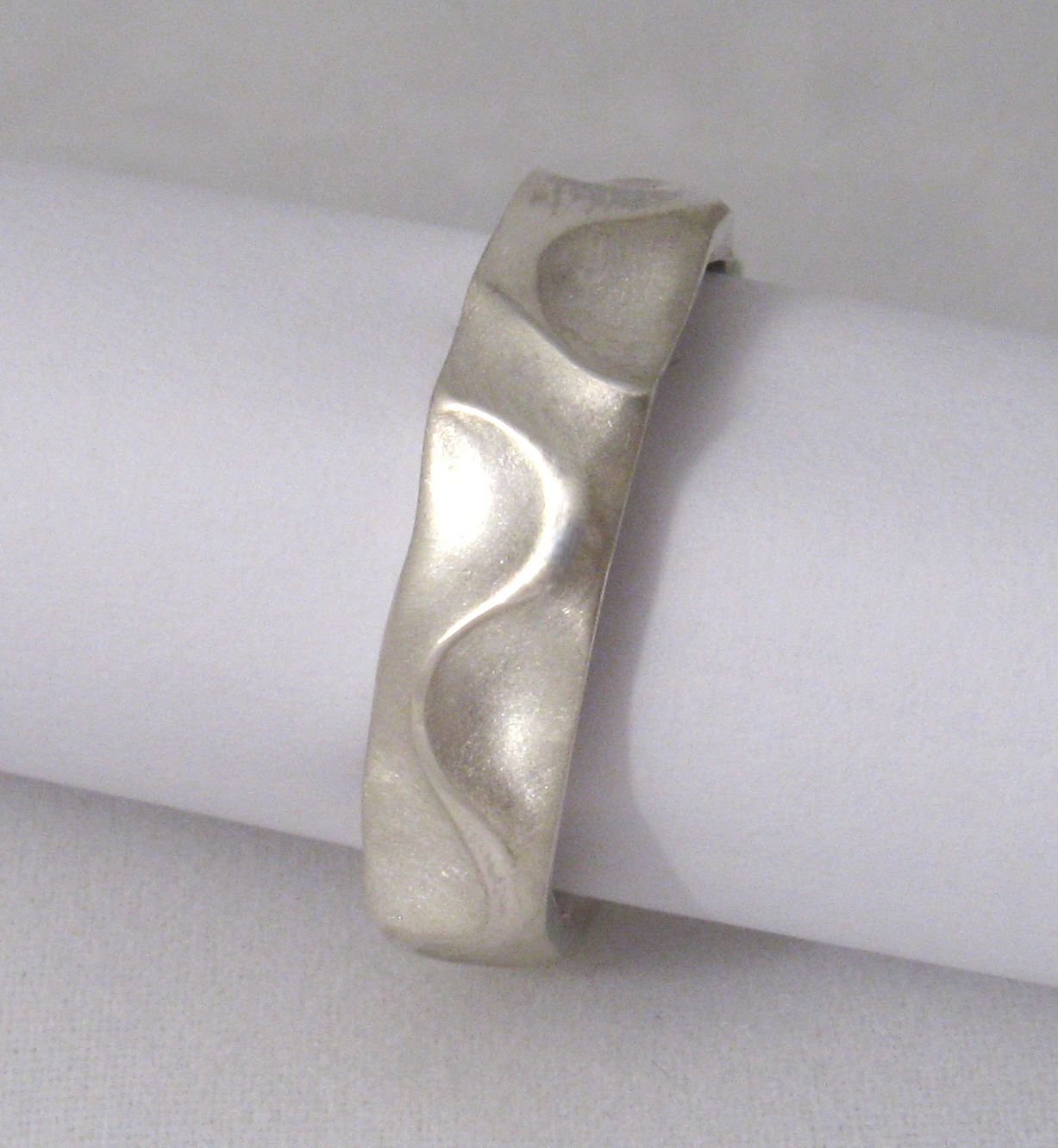 Sterling silver ring by Tabitha Higgins.
