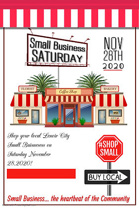 Copy of Small Business Saturday Poster -