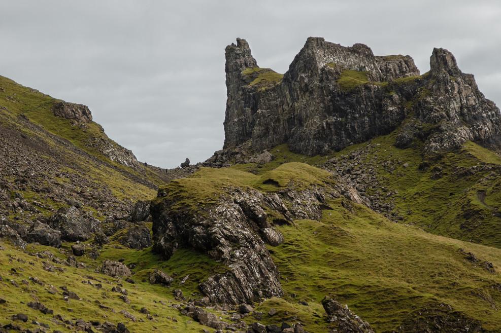 Isle of Skye - Rock Castle
