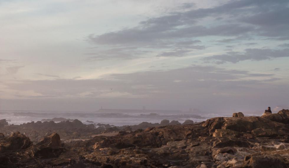 Coastline of Foz