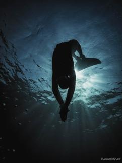 Peter Stetina, Freedive, Freediving, Freitauchen, Apnoe, Anaerobic Art, Unterwasserfotografie, Monoflosse, Dahab