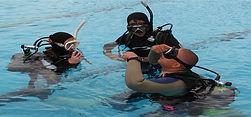 mergulho experimental