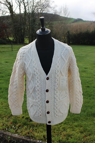 Gents V Neck Cardigan