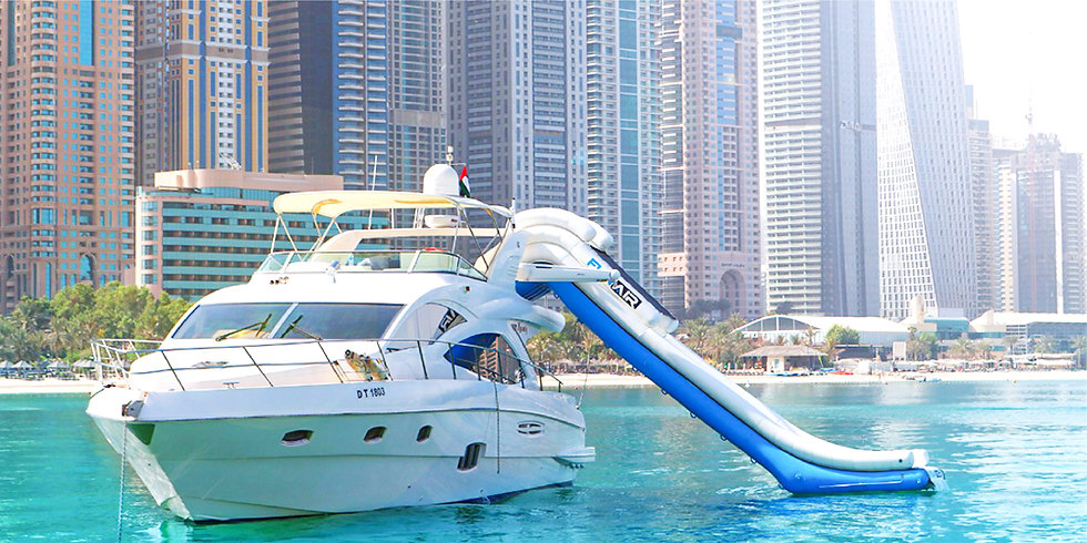 56FT Luxury Private Yacht + Water Sports up to 04 HRS