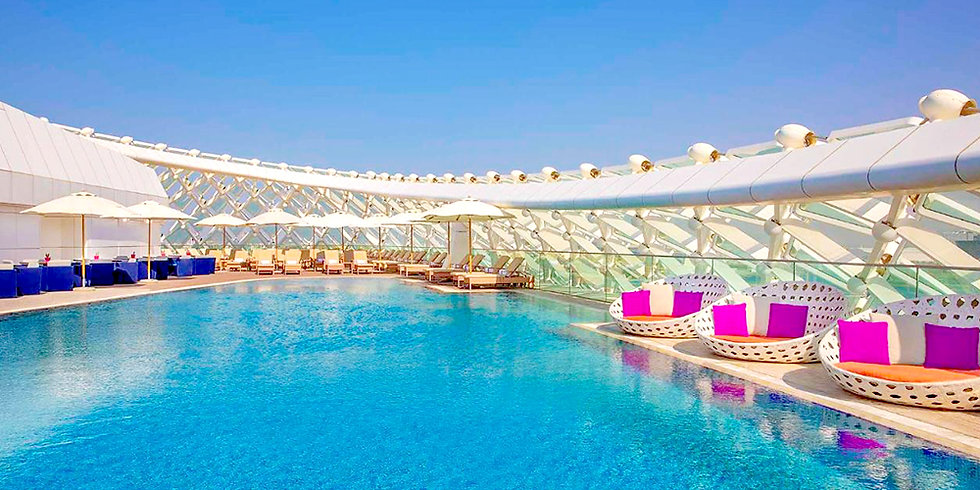 2 Days & 1 Night Stay with free access to any 1 Park -  Ferrari World, Yas Water World or Warner Bros up to 03 Adults